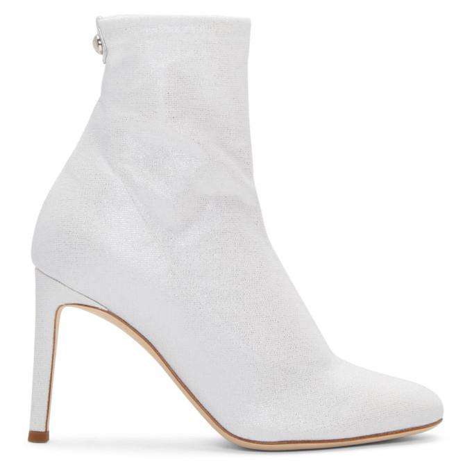 silver bimba sock boots