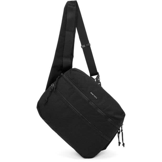 black f-urbhanity cross body backpack