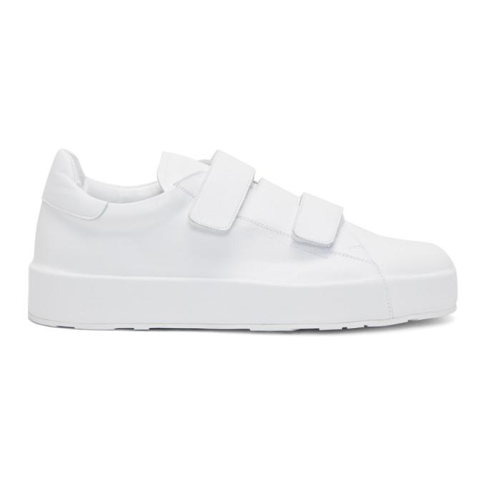 white eleonor sneakers