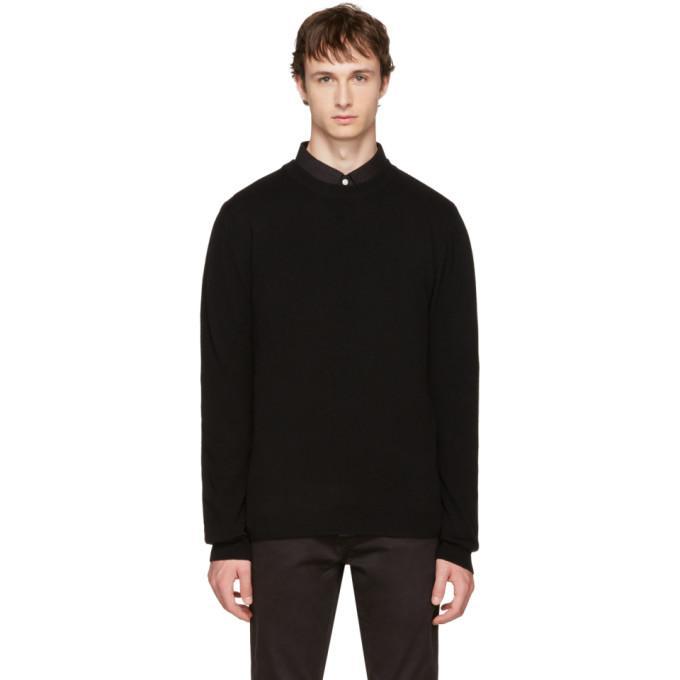 black everyday classic sweater