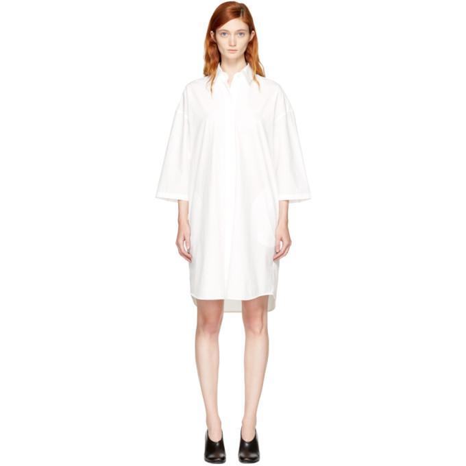 off-white ditta shirt dress