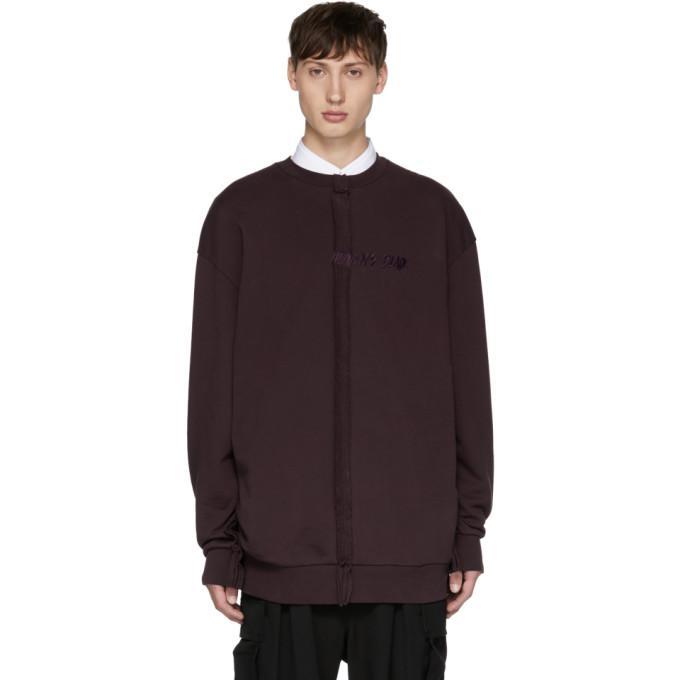 purple heaven's blade sweatshirt