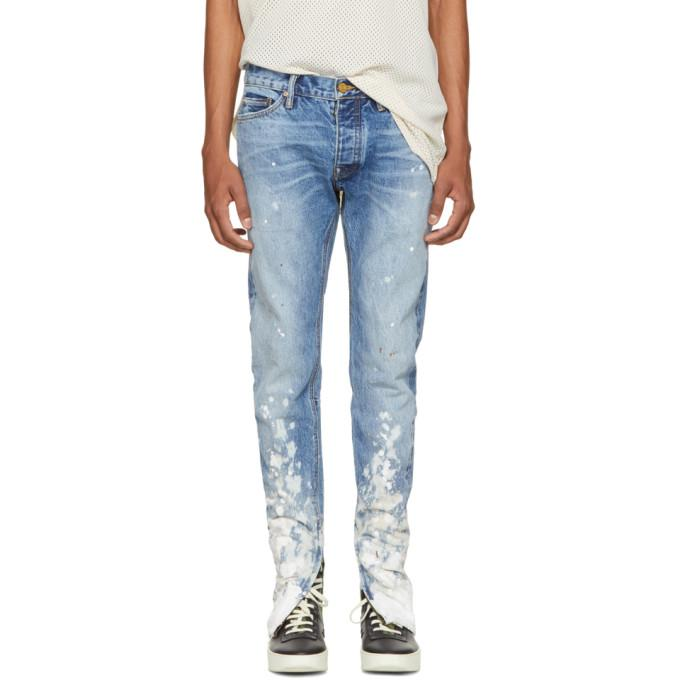 indigo selvedge denim painters jeans