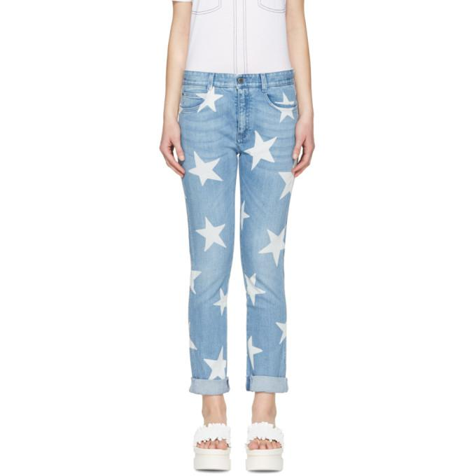 blue skinny boyfriend stars jeans
