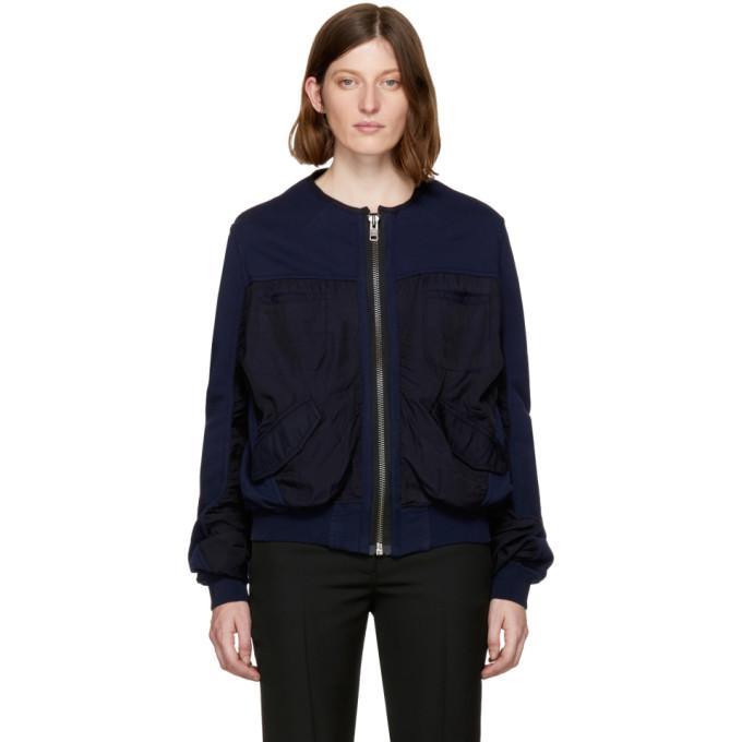 indigo perth bomber jacket