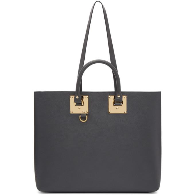 grey soft cromwell east west tote