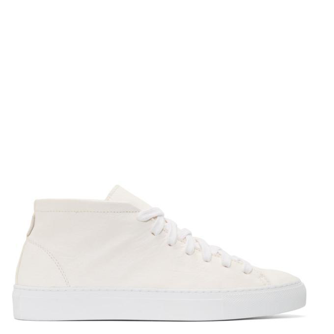 ivory loria mid-top sneakers
