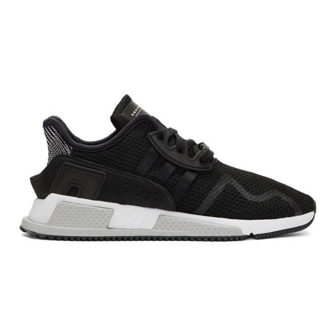 black eqt cushion adv pk sneakers