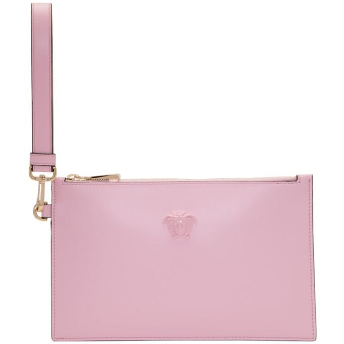pink medusa pouch bag