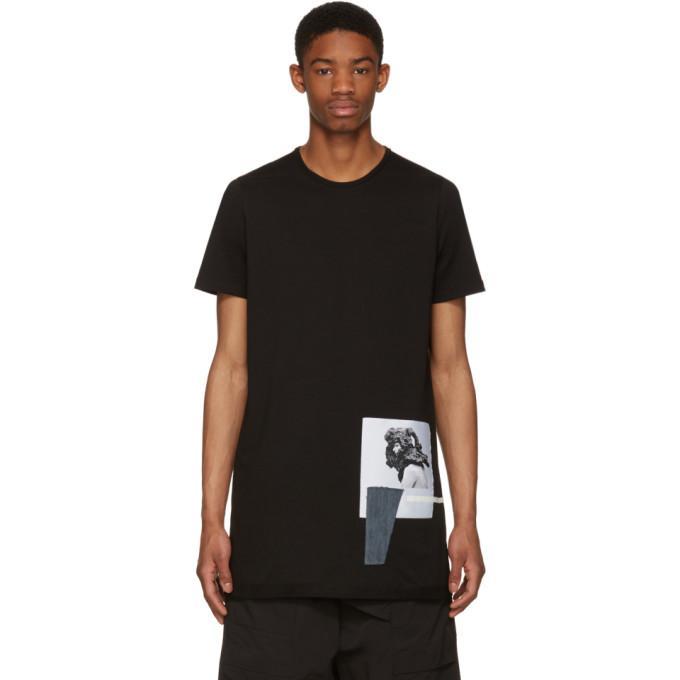 black level patch t-shirt