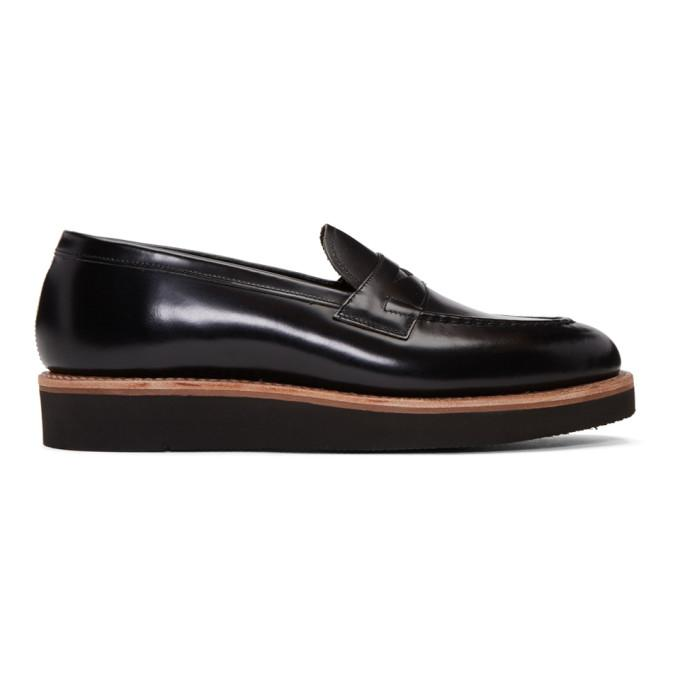 black lloyd loafers