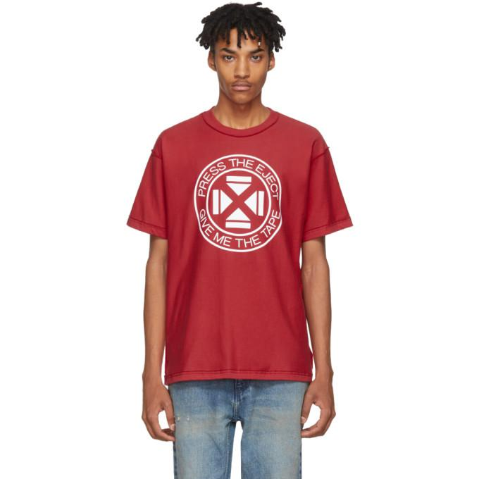 red 'press the eject' t-shirt