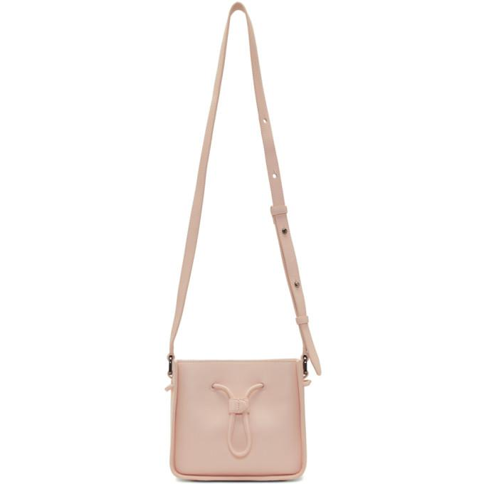 pink mini soleil bucket bag