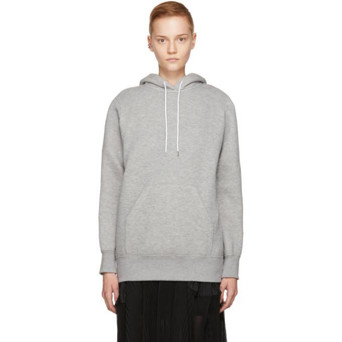 grey sponge hoodie