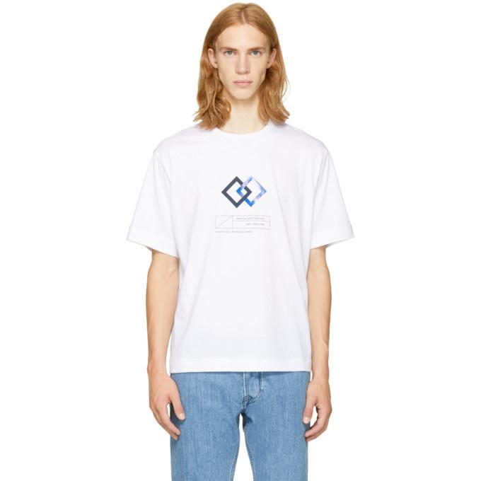 white 'martial arts' t-shirt