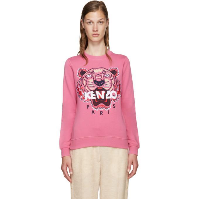 pink tiger pullover