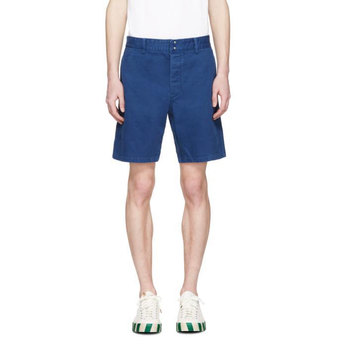 navy pastoral shorts
