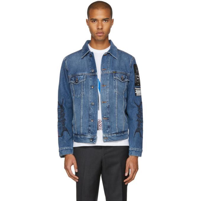 blue primal denim jacket