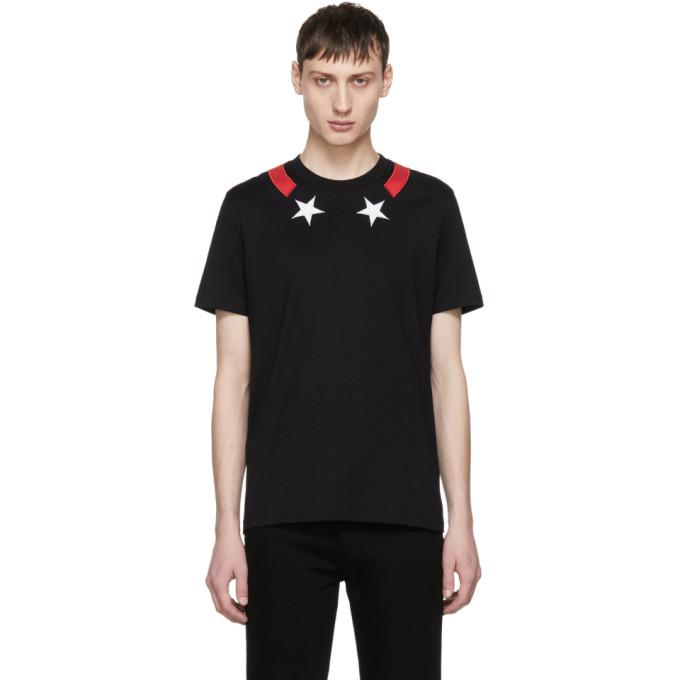 black stars & stripes t-shirt