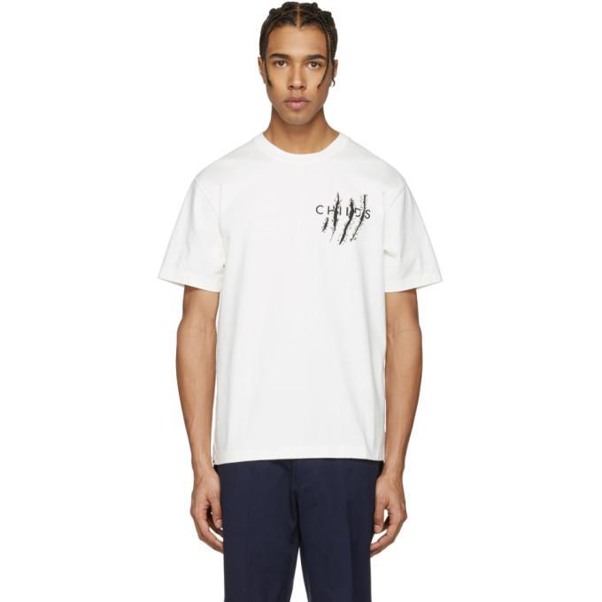 white ripps logo clean t-shirt