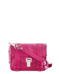 proenza schouler - ps1 mini crossbody leather bag