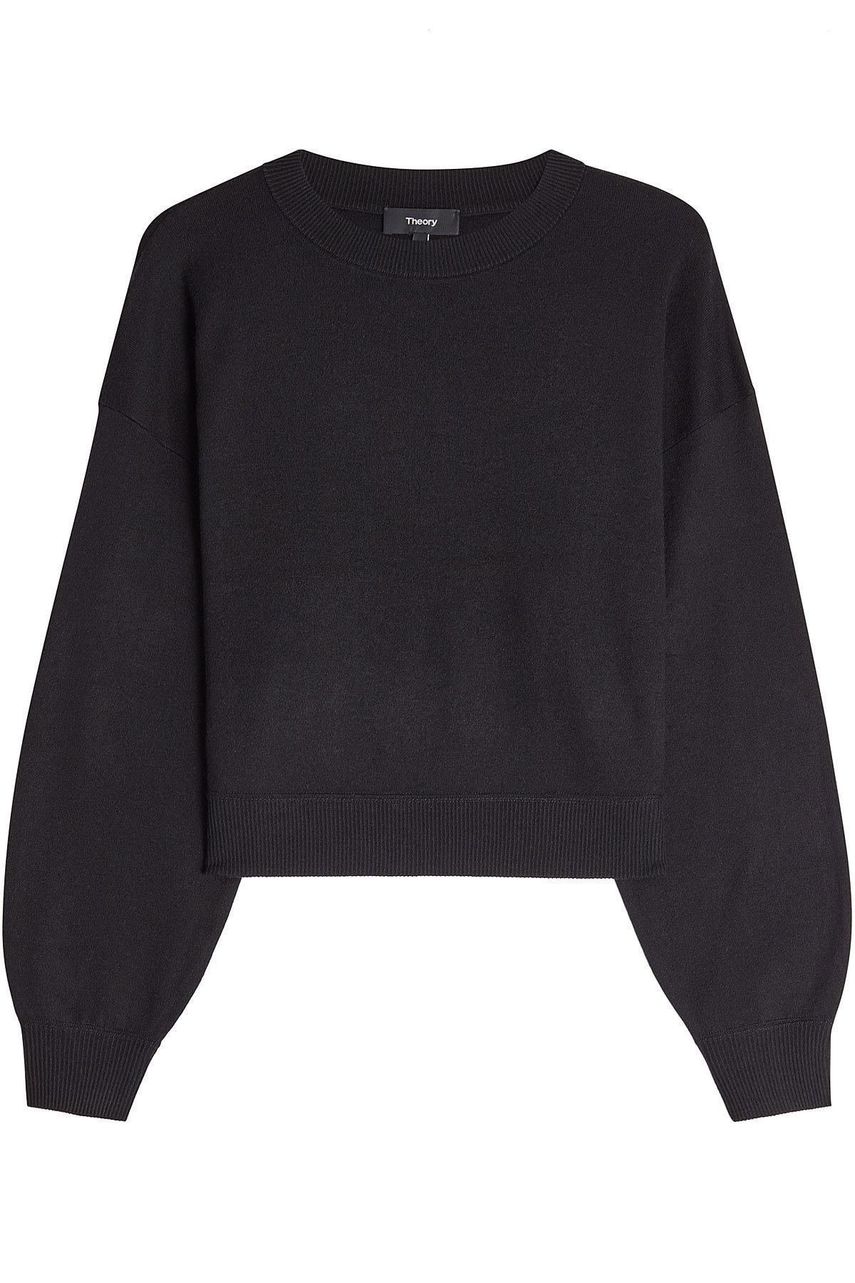 pullover with silk and cashmere