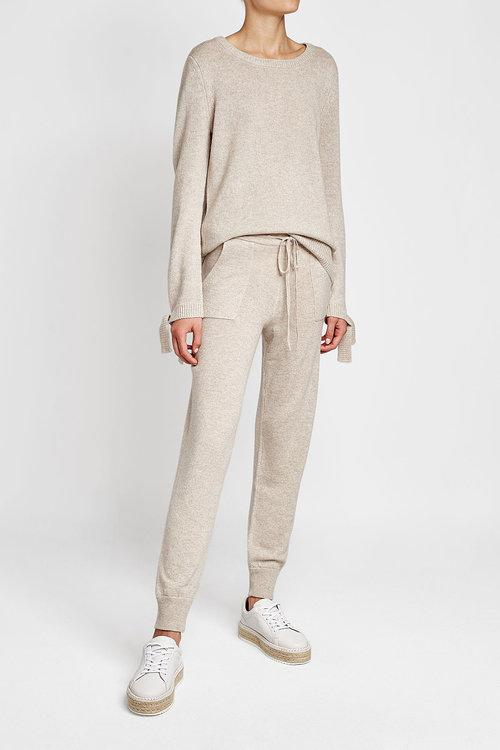 wool and cashmere sweatpants