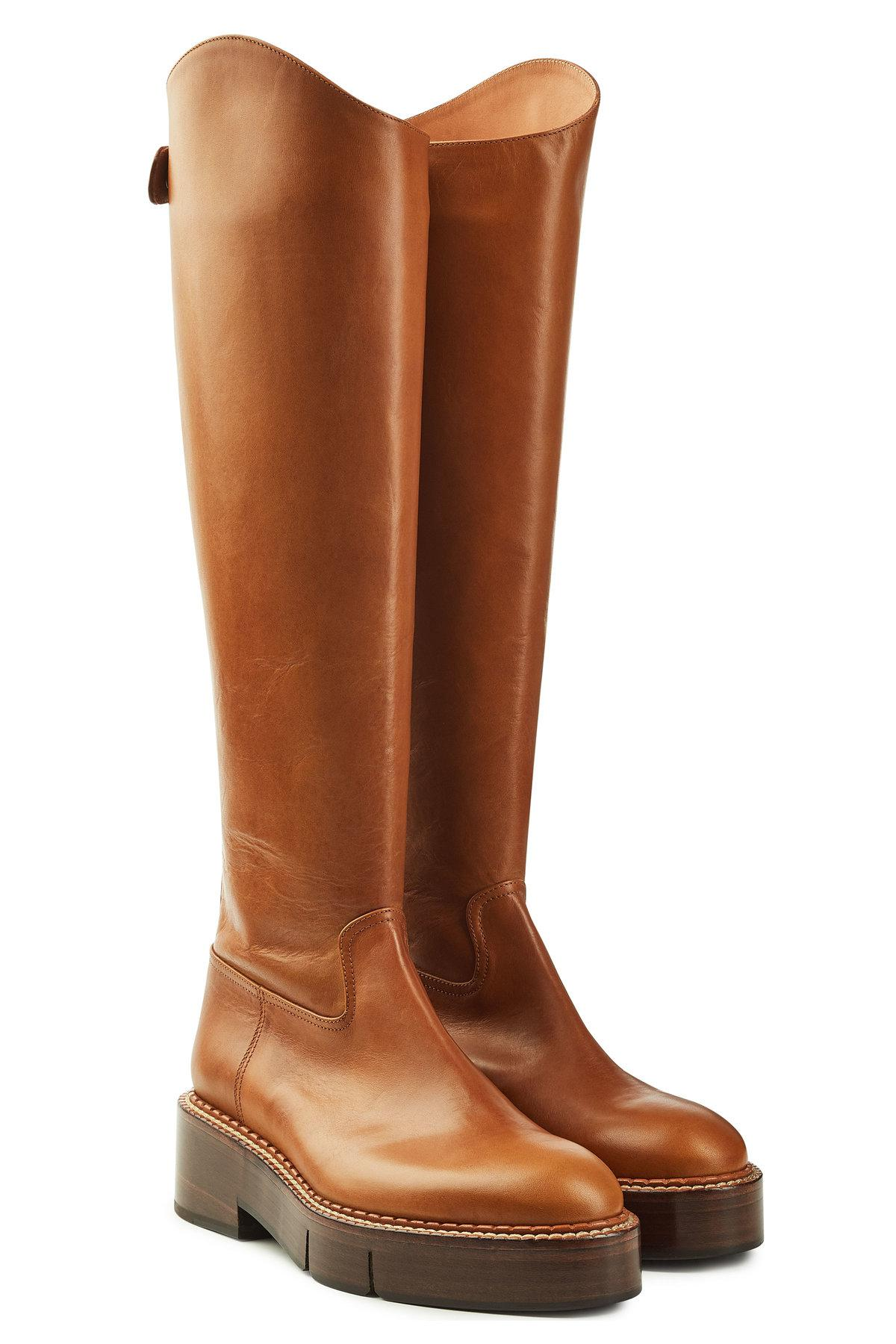 canada leather knee boots