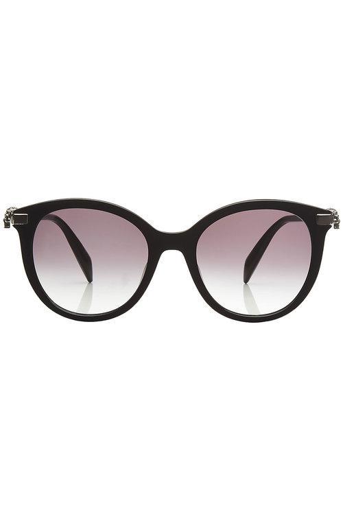 sunglasses with embellished skulls